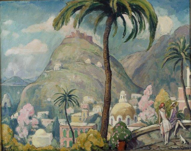 Capri, Italy by Einar Wegener (c.1920)