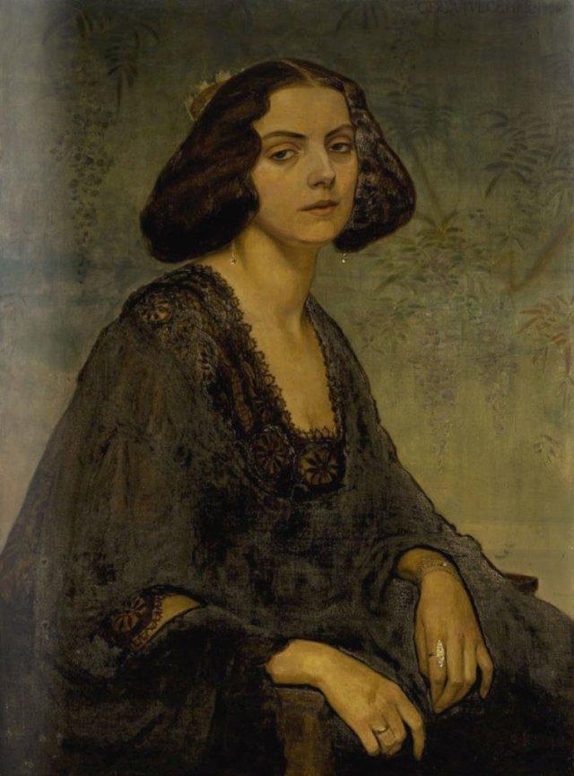 Portrait of Ellen von Kohl by Gerda Wegener