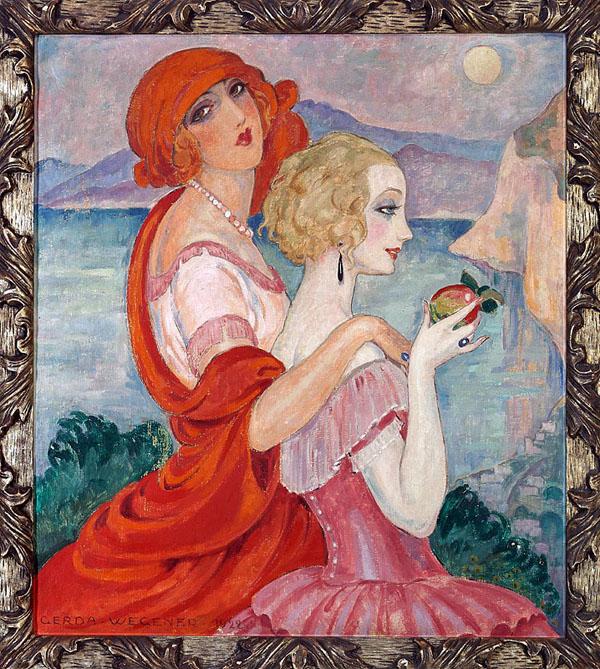 Lili and Gerda by Gerda Wegener