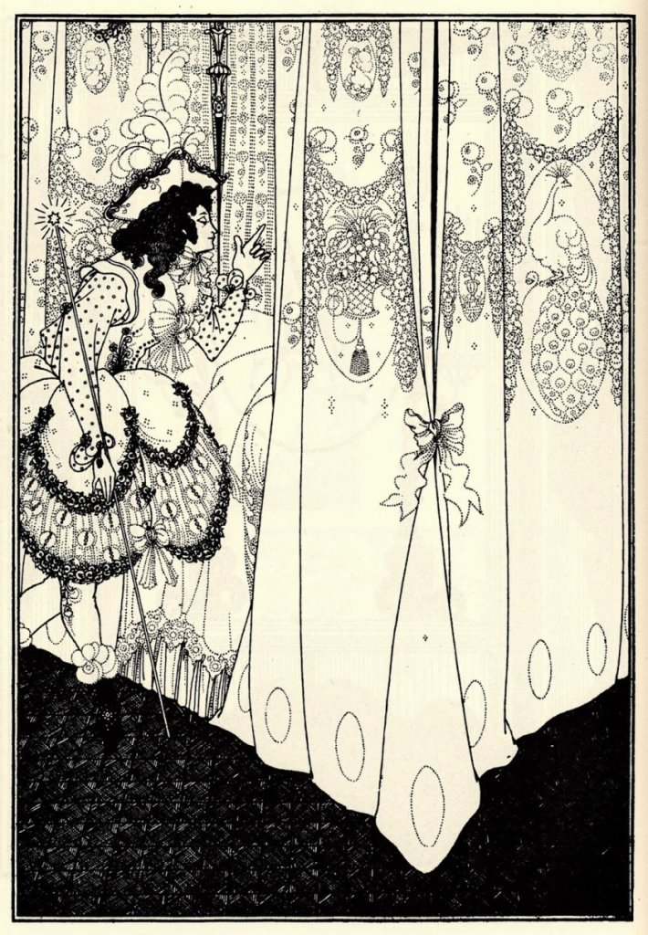 The Morning Dream, an illustration by Aubrey Beardsley