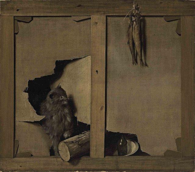 A trompe-l'oeil by Léopold Boilly