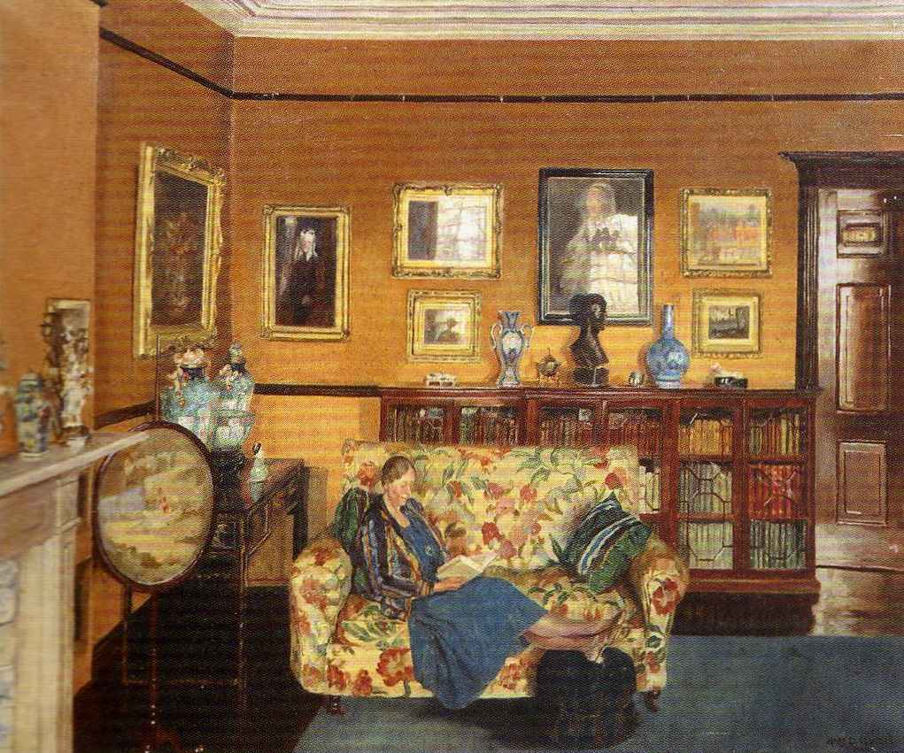 A Quiet Hour by Mary Elwell 1942