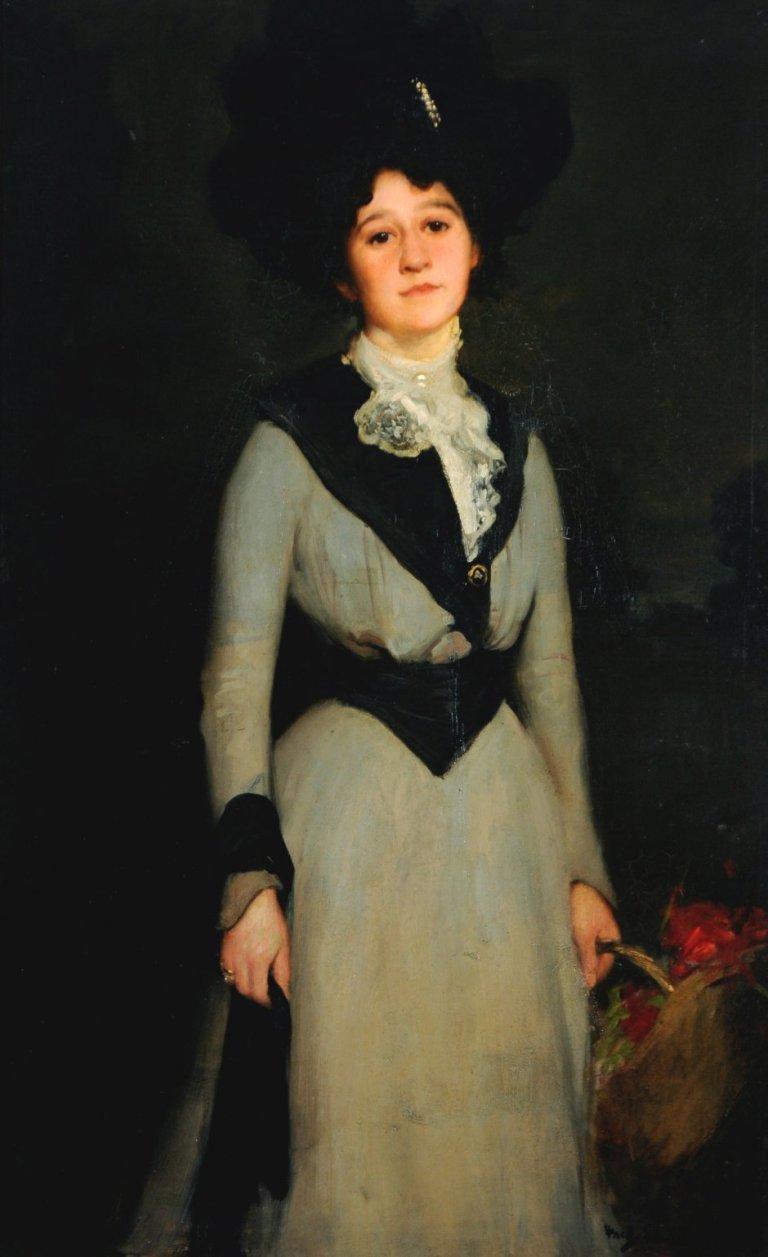 Mary Dawson Holmes by Frederick William Elwell