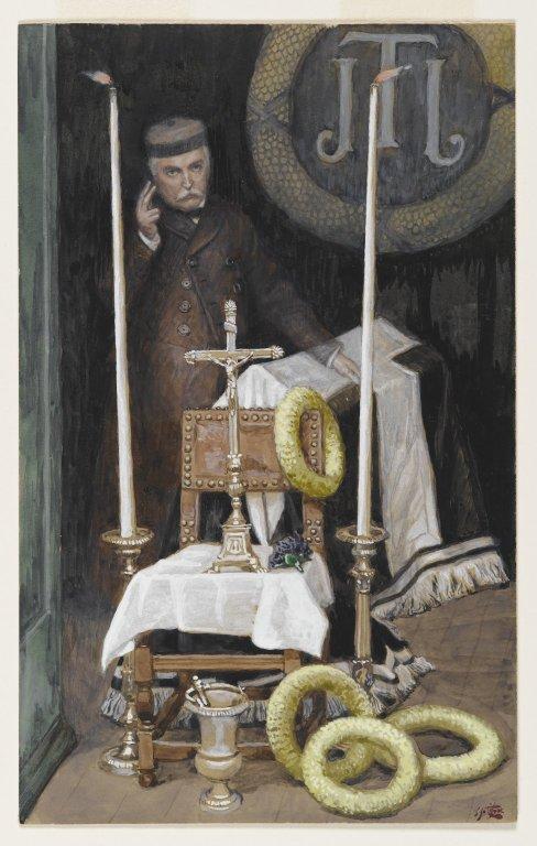 Portrait Of The Pilgrim Portrait Du Pc3a8lerin By James Tissot 1886 1894