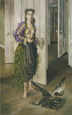 Birthday by Dorothea Tanning (1942)