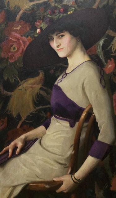 Art of Impressionist Painter William McGregor Paxton